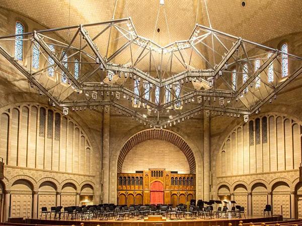 美国音乐厅装饰性网架