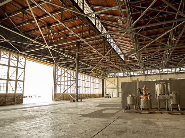 Light Frame Professional Design Aircraft Hangar