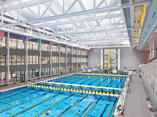 Metal Roof Light Steel Prefab Swimming Pool Cover