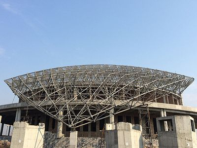 China Supplier Space Frame Roof Structure For Sale
