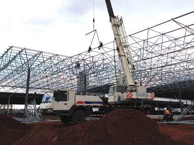 Steel Structure Factory Steel Structure Construction