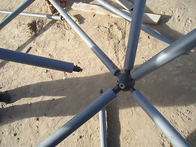 Stainless Steel Ball Bolted Node Components For Steel Space Frame