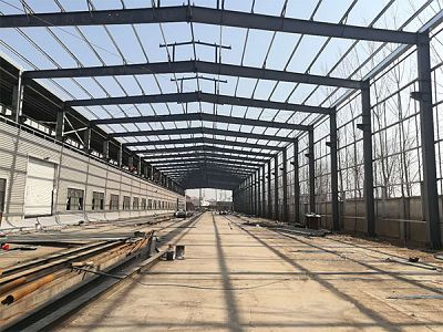 Prefabricated Steel Structure Factory Building Two Story