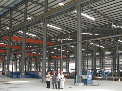 Prefab Light Steel Structure Warehouse