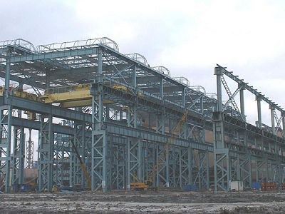 Prefabricated Steel Structure Space Frame