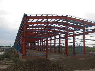 Steel Structure Space Frame For Workshop