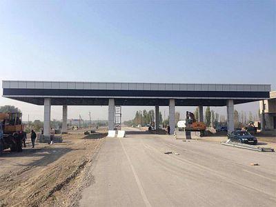 塔吉克斯坦收费站图片
